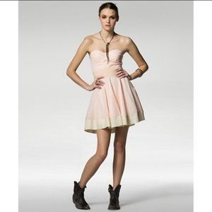 Elizabeth and James Pink Bustier Mini Dress 2
